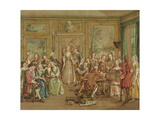 Musical Conversation, C.1760 Giclee Print by Marcellus the Younger Laroon