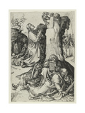 The Agony in the Garden Giclee Print by Martin Schongauer