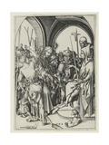 Christ before Annas Giclee Print by Martin Schongauer