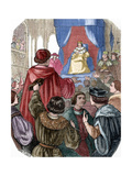 Louis XII of France (1462-1515) in the States General, 1506 Giclee Print by Louis Dupre