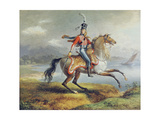 Equestrian Self Portrait, 1806-08 Giclee Print by Louis Lejeune