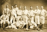 The Metropolitan Baseball Nine, 1882 Photographic Print by Napoleon Sarony