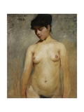 Nude Girl, 1886 Giclee Print by Lovis Corinth