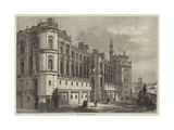 Chateau of St Germain-En-Laye Giclee Print by Michel Charles Fichot