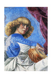 Angel Playing Lute Giclee Print by Melozzo Da Forli