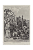 A Chinese Religious Institution, Prayer-Wheels Giclee Print by Paul Frenzeny