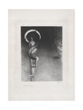 Serpent-Aureole, 1890 Giclee Print by Odilon Redon