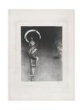Serpent-Aureole, 1890 Giclee Print by Odilon Redon