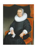 Portrait of a Lady, 1649 Giclee Print by Nicolaes Maes