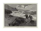 A Long Shore Shoot Giclee Print by Percy Robert Craft