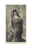 A Princess of Cyprus Giclee Print by Nathaniel Sichel