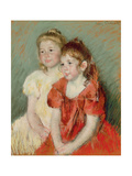 Young Girls, C.1900 Giclee Print by Mary Cassatt