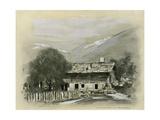 Chalet Near Lucerne Giclee Print by Mortimer Ludington Menpes