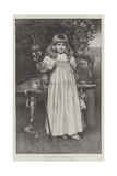Little Bo-Peep Giclee Print by Norman Prescott Davies