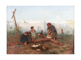 Where They Crucified Him, 1862 Giclee Print by Philip Richard Morris