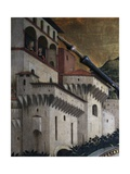 Capriccio with Temple Giclee Print by Michele Marieschi