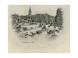 Trafalgar Square Giclee Print by Mortimer Ludington Menpes