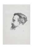 Maurice Denis, 1903 Giclee Print by Odilon Redon