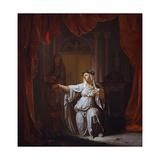 Two Vestal Virgins (Panel) Giclée-Druck von Nicolaes Verkolje
