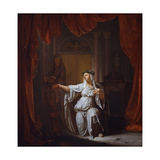 Two Vestal Virgins (Panel) Giclee Print by Nicolaes Verkolje