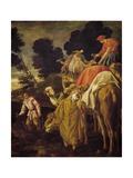 Caravan of Camels Giclee Print by Pedro Orrente