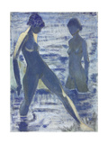 Bathers, C. 1927 Giclee Print by Otto Muller