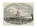 The Alarm Yacht Ashore in Barnpool Giclee Print by Nicholas Matthews Condy