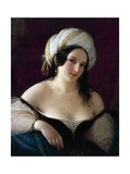 Odalisque, 1845 Giclee Print by Natale Schiavoni