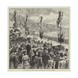 Opening of the New North Parade at Scarborough by the Duke of Clarence Giclee Print by Melton Prior