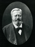 Edmond Felix Valentin About (1828-85), from 'Galerie Contemporaine', C.1874-78 Fotoprint van  Nadar