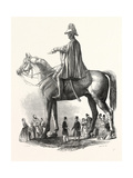 Colossal Statue of the Duke of Wellington, 1846 Giclee Print by Matthew Cotes Wyatt
