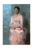Portrait of Frederikke Tuxen, 1882 Giclee Print by Peder Severin Kroyer