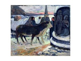 Christmas Night, C.1902-3 Giclee Print by Paul Gauguin