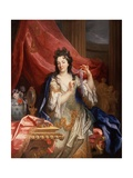 Portrait of a Woman, C.1696 Giclee Print by Nicolas de Largilliere