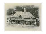 A Cottage in Surrey Giclee Print by Mortimer Ludington Menpes