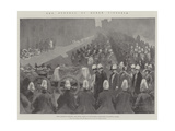 The Funeral of Queen Victoria Giclee Print by Maynard Brown