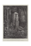Past and Present, in a Nicaraguan Forest, Central America Giclee Print by Paul Frenzeny