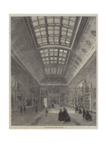New Room at the National Gallery Giclee Print by Percy William Justyne