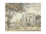The Chapel of the Greyfriars Monastery, Winchester Giclee Print by Michael Rooker