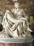 The Pieta Giclée-tryk af Michelangelo Buonarroti