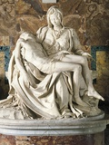 The Pieta Giclee Print by  Michelangelo Buonarroti