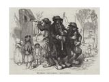 The Sonneurs (Waits) in Brittany Giclee Print by Octave Penguilly l'Haridon