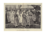 The First Communion, Dieppe Giclee Print by Philip Richard Morris