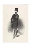 Costume D'Hiver, Par Humann, 1846 Giclee Print by Paul Gavarni
