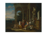 After the Hunt, 1729 Giclee Print by Peter Jacob Horemans