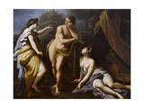 The Choice of Hercules, 1712 Wydruk giclee autor Paolo Di Matteis