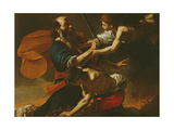 The Sacrifice of Isaac, 1613 Giclee Print by Mattia Preti