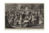 May Fair, a Sketch in Hyde Park Giclee Print by Matthew White Ridley