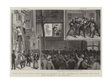 Election of General Boulanger as Member of the Chamber of Deputies for Paris Giclee Print by Paul Destez