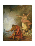 Saul and the Witch of Endor, 1791 Giclee Print by Philip James De Loutherbourg
